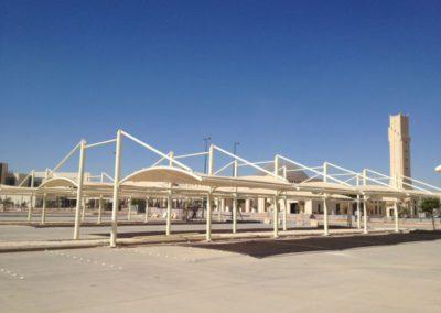 Parking Shades in King Saud University