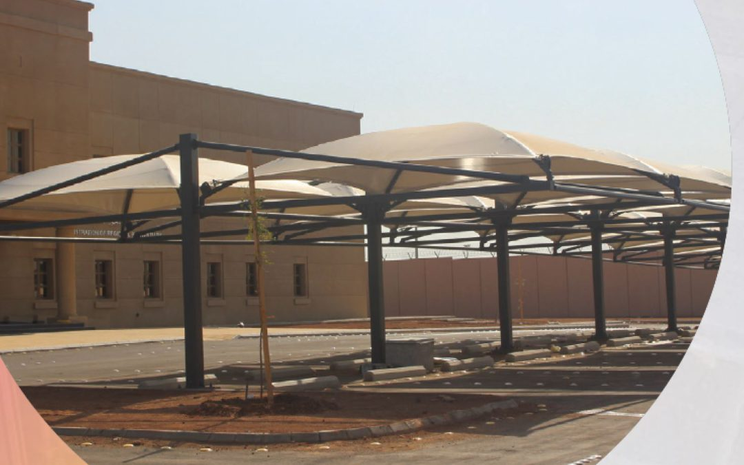 Parking Shades in Corrections facilities