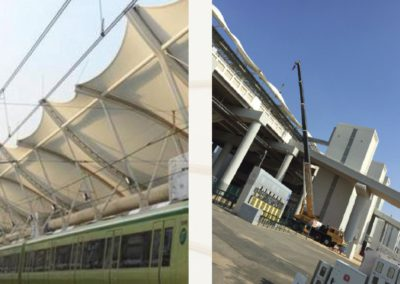 Inspection, Repairing & Maintenance of Tent Roof structure at Muzdalifah and Arafat Railway Stations