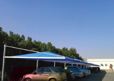 Car Parking Shades for government projects